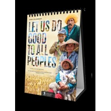 BSS 2020 Desk Calendar - Let Us Do Good to All Peoples