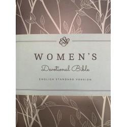 ESV Women's Devotional Bible, Hardcover in green