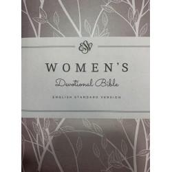 ESV Women's Devotional Bible Hardcover, Purple