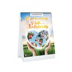 BSS 2021 Desk Calendar - Overcoming Adversities Through Faith and Solidarity (Minimum-2)
