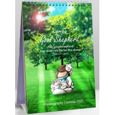 Sheepography 2020 Calendar -  I Am The Good Shepherd