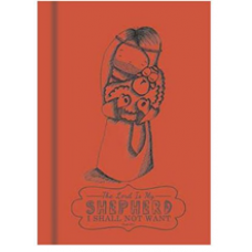 Sheepography A5 Note Book Orange